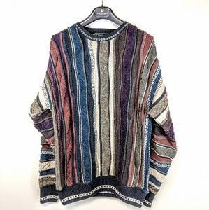 Vintage Coogi-Style Sweater